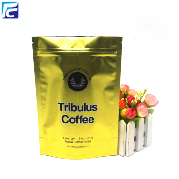 Zipper Aluminum Foil Coffee Bags For Sale