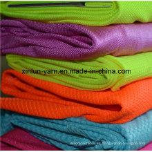 Tela de lycra de la ropa de la tela semi-brillante de la venta caliente