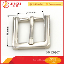 China manufacture company brand belt adjustable buckle