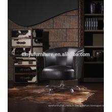 Chaise de bar pivotante moderne, chaise longue A607