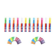 Cañón de confeti sin polvo Harm Holi Color para Color Run Holi Festival y evento deportivo