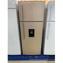 Double Door Top Freezer Refrigerator with Water Dispenser
