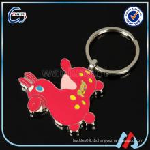 Großhandel kundengebundenes tierisches Keychain