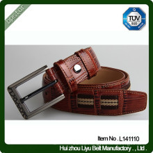 Casual Sport Fabric Leather Belt for Men