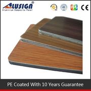 Alusign 2014 newest wood plastic composite exterior wall cladding