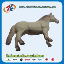 Cavalo branco do cavalo plástico do brinquedo do atacadista de China para a criança