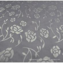Tissu de doublure en polyester avec motif de gaufrage