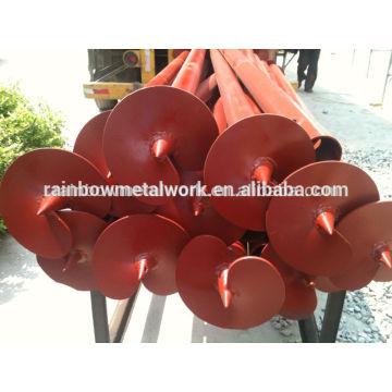 Poteaux à vis / écrous hélicoïdaux