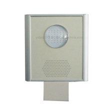 Ce RoHS IP65 6W-80W tout en un détecteur de mouvement capteur de lumière LED lampadaire solaire lumière de jardin intégré réverbère