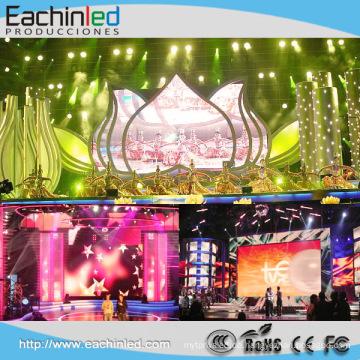 Neue Art Innen-PH 4.8mm farbenreicher Miet-LED-Bildschirm