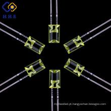 Diodo emissor de luz difundido da cor de âmbar de 5mm