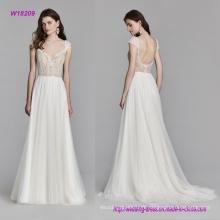 Robe de mariée en dentelle Chantilly