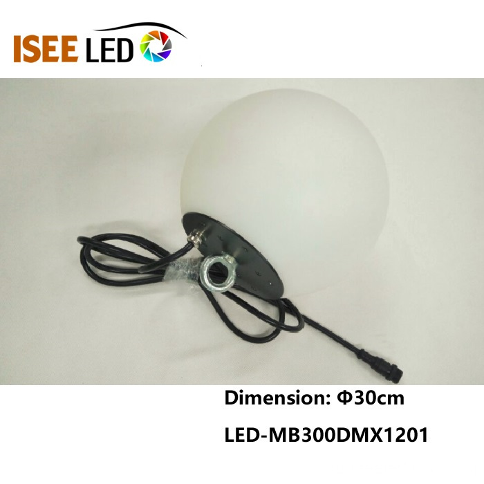 500mm DMX RGB Led Ball Light for clubs