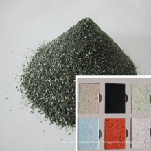 Arena de cuarzo verde / sílice para encimera