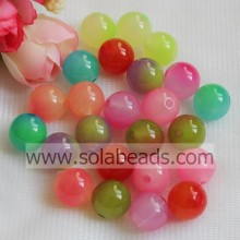 Decorating Idea 14mm Plastic Round Smooth Tiny beads