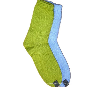 100% Cashmere Sock