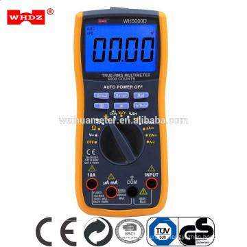 5 В 1 автоматический диапазон цифровой мультиметр, автоматический диапазон мультиметр WH5000D