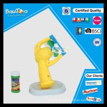 Novo projeto bolha de sabão de plástico brinquedo arma