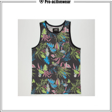 Bamboo Logo Different Kinds of Private Label Tank Top
