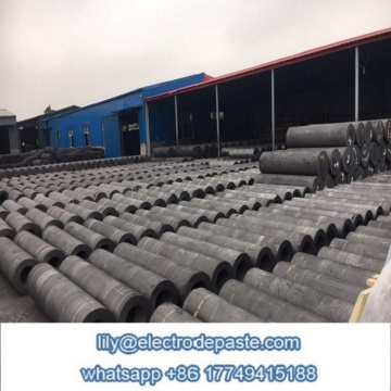 350mm Graphite Electrode with nipples for arc furance