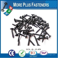 Made in Taiwan Philip Bugle or Trumpet Head Drywall Screw Fine or Coarse Thread Plasterboard Gypsum Board Screw W Type or S Type