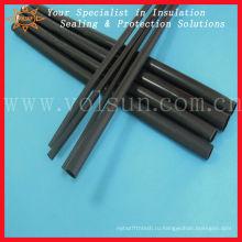 Полужесткий толстыми стенками, клей выстроились термоусадочной трубки