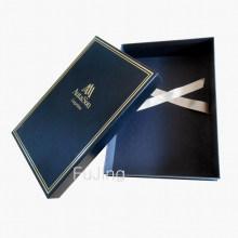 Großhandelskundenspezifischer empfindlicher Kleiderverpackungs-Geschenk-Papierkasten