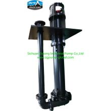 Vertical slurry liquid submerged pump for industry