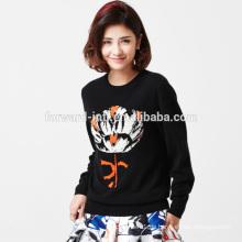 Einfach und Fashion Cashmere Pullover für Frauen