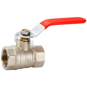 Brass water ball valve for plumbing