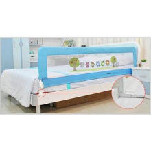 Full Size Baby Bed Rails For Kids With Woven Net Cartoon Pi