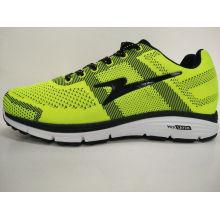 Helle Farbe Zitrone Gelbe Fliege Stricken Gym Schuhe