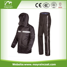 Traje de lluvia impermeable y transpirable de Nylon Sports