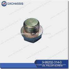 Tornillo de llenado de aceite TFR / TFS genuino 9-99202-314-0