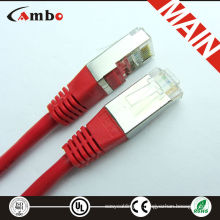 CAT 5E PATCH CORD RJ-45 12FT Red