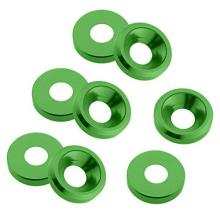 Custom High Quality Anodized Aluminum Countersunk Washer