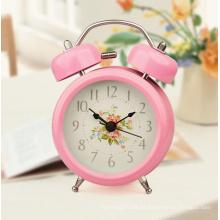 Venta al por mayor Reloj despertador con logotipo impreso con batería