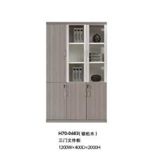 Panel Office Wooden Furniture Modular File Cabinet (H70-0683)