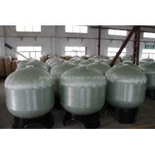 Ce aprobado FRP recipiente de presión para el tratamiento de agua