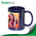 11OZ white patch digital blank sublimation mugs