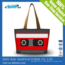 Китай рекламные моды пользовательских Tote RPET сумка