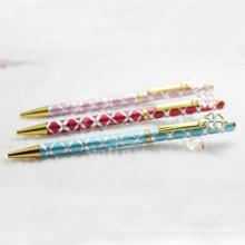 Schlanke stilvolle Metall Geschenk Stift mit hübschen Clip Design