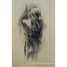2014 neueste heiße Verkaufs-Ölgemälde-nackte Kunst