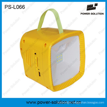 Outdoor Camping Emergency LED Product Solar Light with Radio