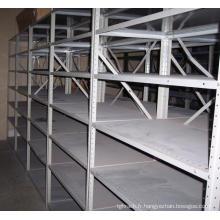 Racks légers, acier à angle fendu, étagères, étagère de rangement