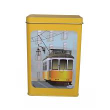 Tea Coffee Metal Packing Tin Box Jy-Wd-2015112713