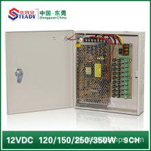 9 Saluran Power Supply Box 12V10A