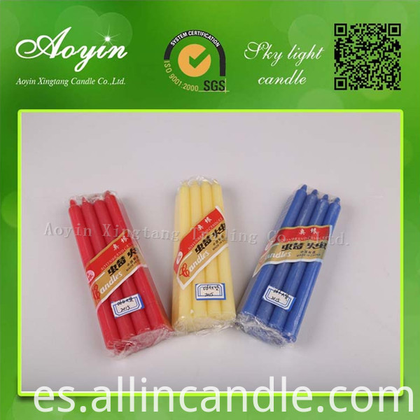 COLOR STICK CANDLES33