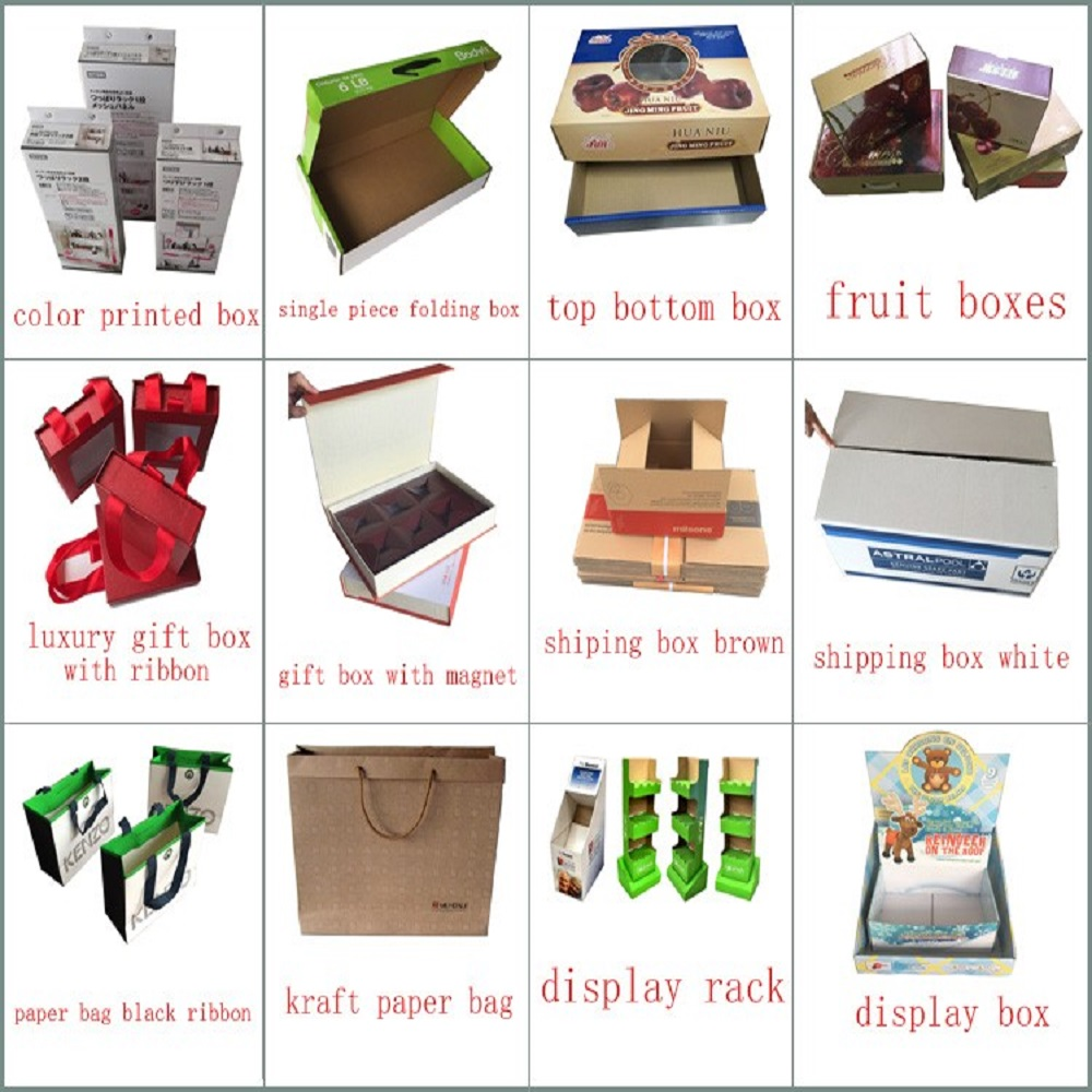 custom corrugated paper shipping brown box packaging box