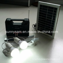 Solar Power Home System Light for Home Lighting and Emergency